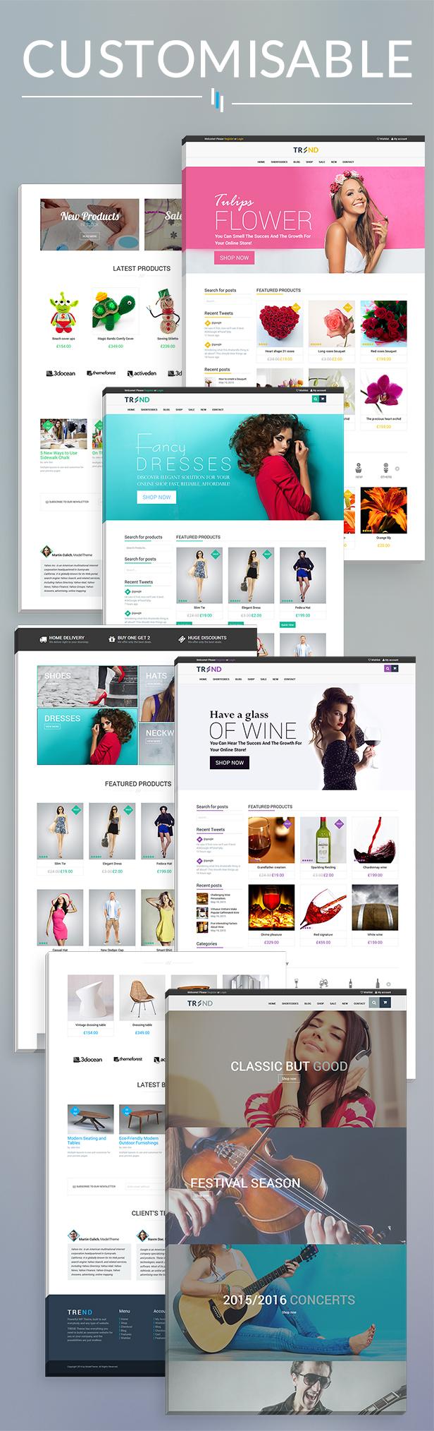 Trend - Multi-Niche WooCommerce Theme - 20