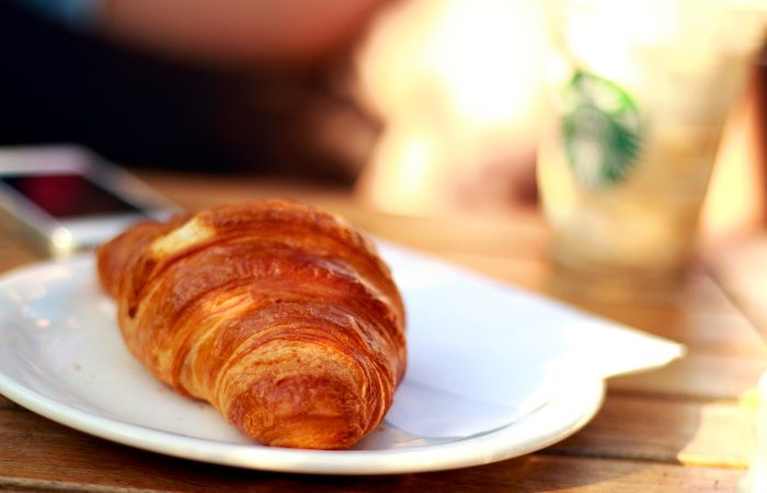 Are the chicken croissants real?